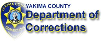 Yakima County DOC Inmate Incarceration Selection Screen